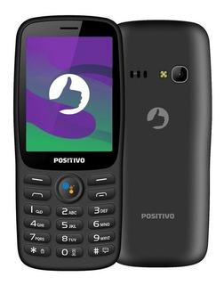 Celular Positivo P70s 3g Dual Para Idoso Wifi Whatsapp