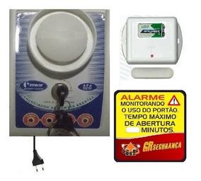 1 Alarme Anunciador Porta Aberta Sem Fio Com 7 Sensores