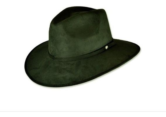 Lote 10 Sombreros De Gamuza Tipo Explorer Unisex De Calidad