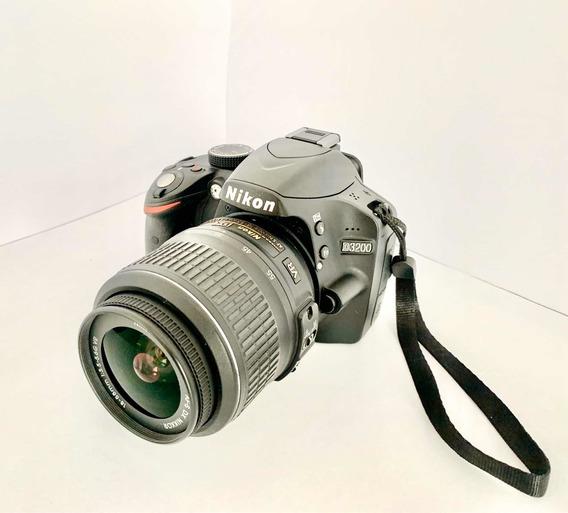 Câmera Fotográfica Nikon D3200 + Lente 18-55mm + Acessorios