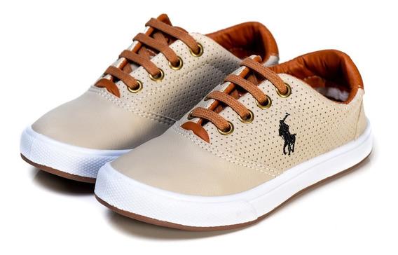 Tenis Sapatênis Infantil Polo Wey Sapato Masculino Oferta