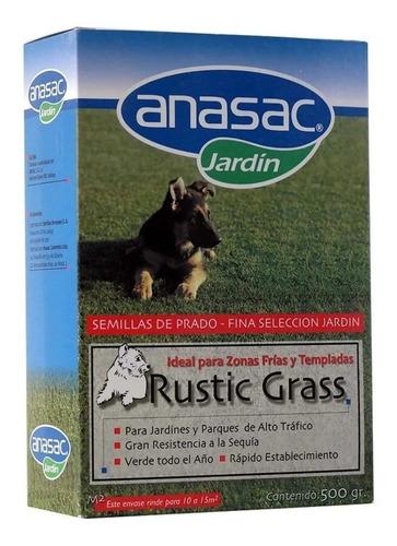 Semilla Pasto Zona Fria Rustic Grass 500 Gr Anasac