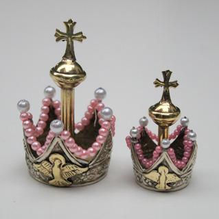 Corona Virgen Del Rosario Y Corona Niño