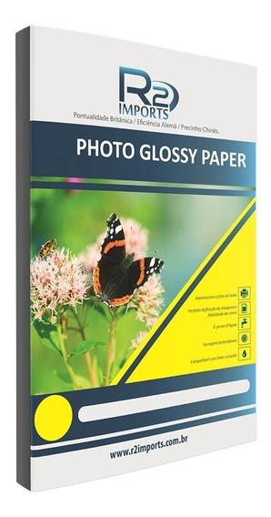Foto 100 Un Glossy Photo Paper Brilho 180g A4 (nao É Adesivo