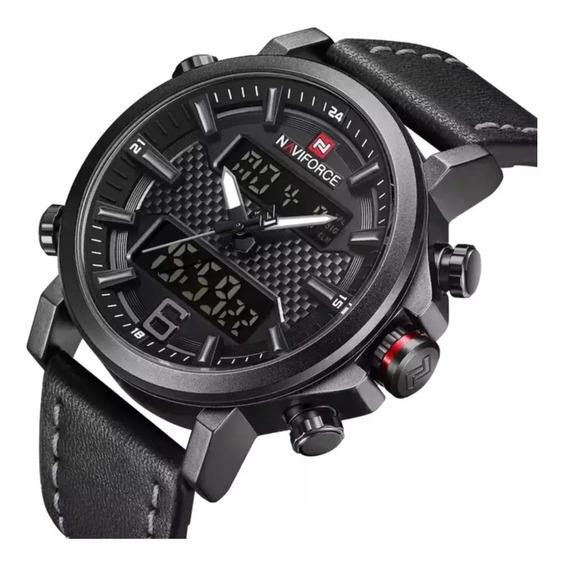 Relógio Masculino Naviforce Nf9135 Digital, Prova D