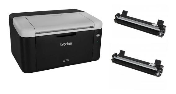 Impressora Brother Hl-1202 + 02 Toner Extra + Cabo Usb
