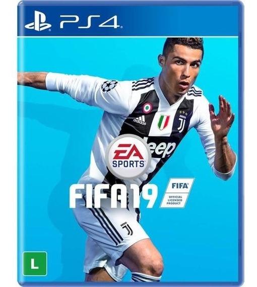 Fifa 19 Para Playstation 4 - Usado - 2 Meses - Mídia Física