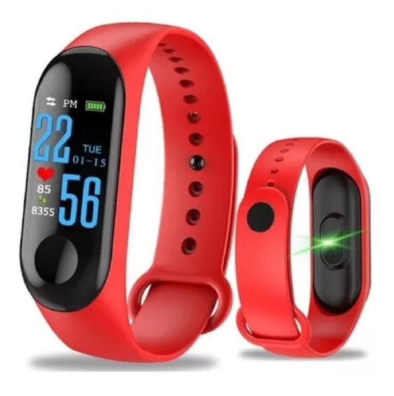 Relógio Pulseira M3 Freqüência Cardíaca Inteligente