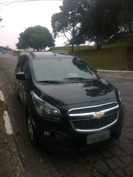 Chevrolet Spin 1.8 Ltz 7 Lulgares Couro 2013/14