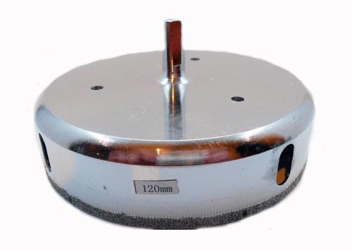 Imagen 1 de 6 de Mecha Diamantada 120mm Vidrio Cerámica Mármol Porcelanato