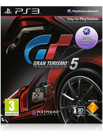 Game Play3 - Gran Turismo 5 - Semi-novo Jogo Ps3
