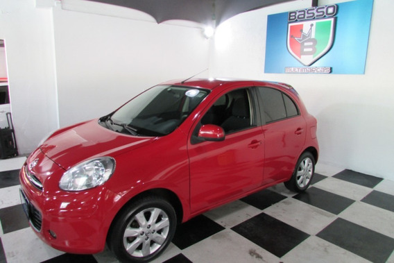 Nissan March 2014 Sv 1.6 Flex Manual