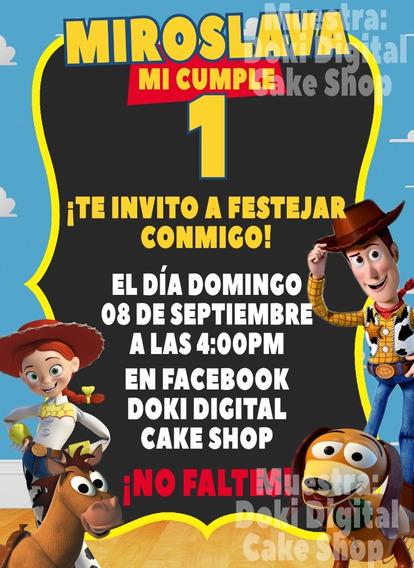 Invitación Tipo Gif De Toy Story