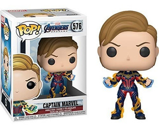 Funko Pop! Endgame Captain Marvel With New Hair Figure