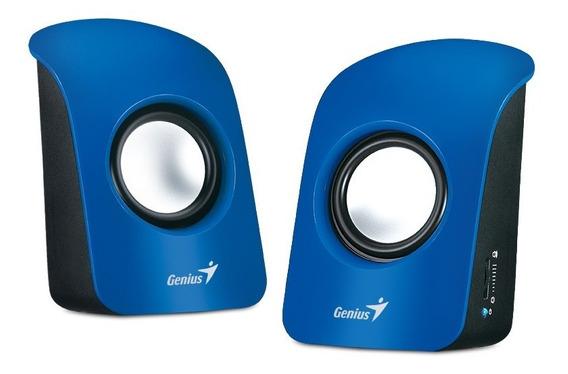 Parlante Genius Sp-u115 Azul Usb
