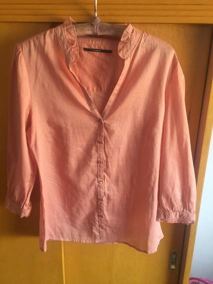 Camisa Akiabara Casual Coral