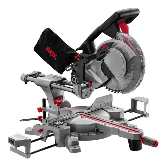 Sierra Ingletadora Skil 3311 1800w Telescópica 254mm 10puLG