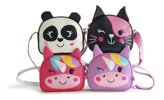 Cartera Infantil Zoo Bags Unicornio Panda Gato Cuero Mmk