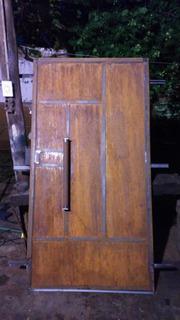 Puerta Chapa Rústica