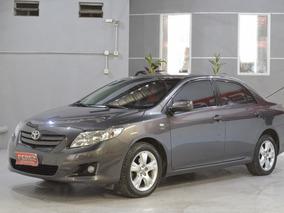 Toyota Corolla 1.8 Xei Nafta 2010 4 Puertas Color Gris Oscur