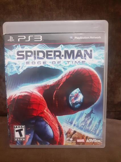 Spider Man Edge Of Time Ps3 Mídia Física