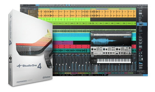 Presonus Studio One 4 Profesional + Instrumentos, 33 Gygas