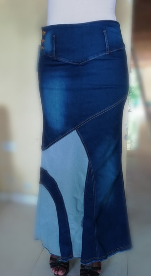 Falda Jeans Larga Promocion