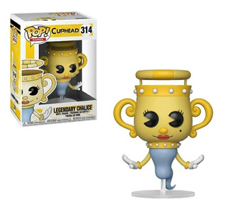 Funko Pop ! Games Cuphead 314 Legendary Chalice Original