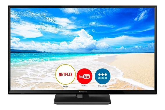 Smart Tv Led32 Panasonic Tc-32fs600b Hd Com Wi-fi, 2 Hdmi