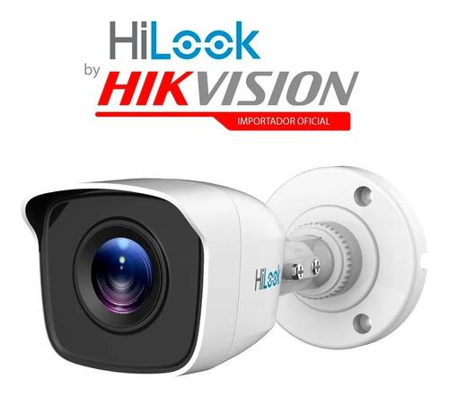Imagen 1 de 2 de Cámara Bullet Hikvision Hilook Thc-b110-m Cctv 720p 1mp 4en1