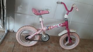Bicicleta Caloi Branca Aro 12 Infantil.