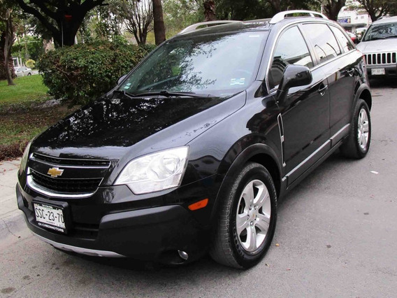 Chevrolet Captiva Ltz 2014 Color Negro