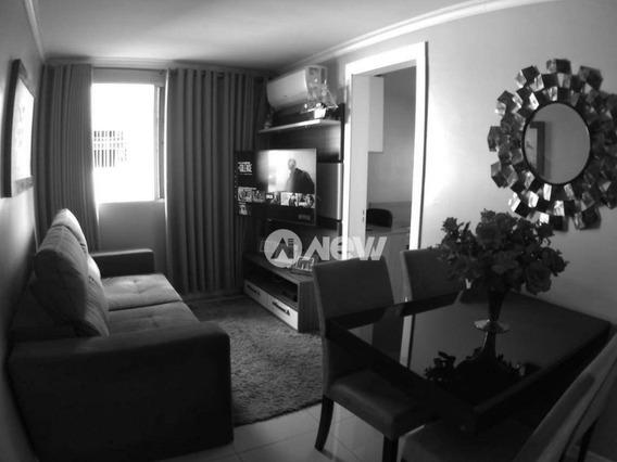Apartamento Com 2 Dormitórios À Venda, 62 M² Por R$ 145.000 - Santos Dumont - São Leopoldo/rs - Ap2434