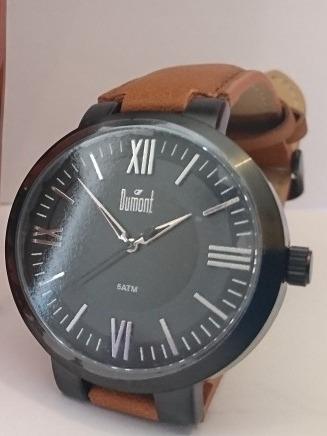Relógio Dumont Masculino 5atm Du2035mno/2p
