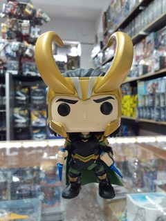 Funko Pop #248 Ragnarok Marvel Collector Corp Exclusive Loki