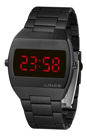 Relógio Lince Unissex Digital Quadrado Mdn4620l Vxpx