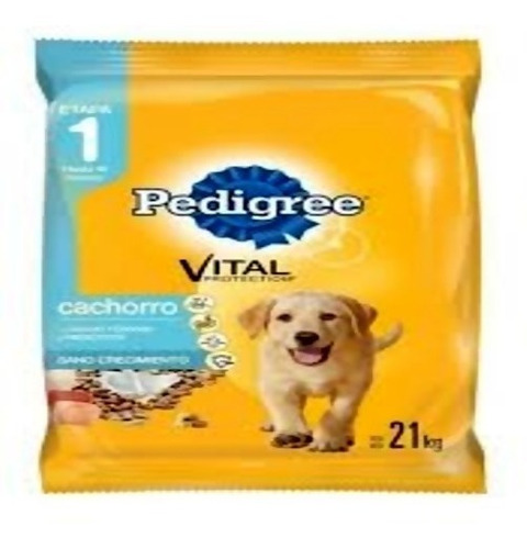 Imagen 1 de 2 de Pedigree Perro Cachorro 8 Kg + Obsequio + Envio
