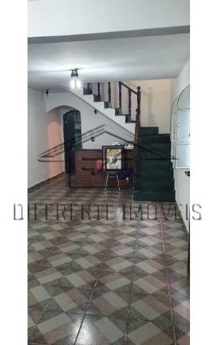 Sobrado 3 Dormitórios - 2 Wc - 2 Vagas -135m² Na Vila Dalila !!