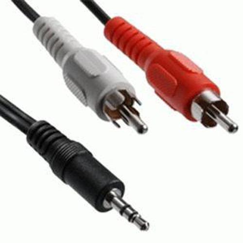 Imagen 1 de 3 de Pack 8x: Cable Audio Rca A Spica 1.5 M