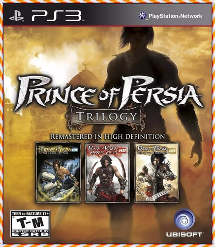 Prince Of Persia  Classic Trilogy Hd Ps3
