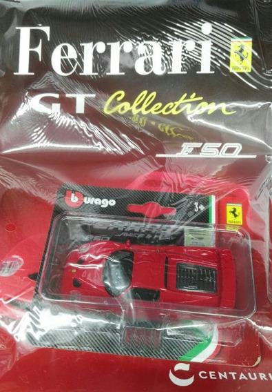 Ferrari Gt Collection Clarin Nº 4 Ferrari F50 Rojo Clarin