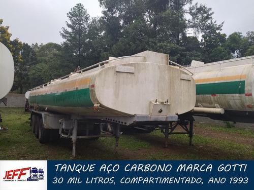 Carreta Tanque Aço Carbono 30 Mil Litros 1993
