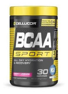 Aminoácido Bcaa Sport Cellucor 330gr 30 Doses Cherry Limeade