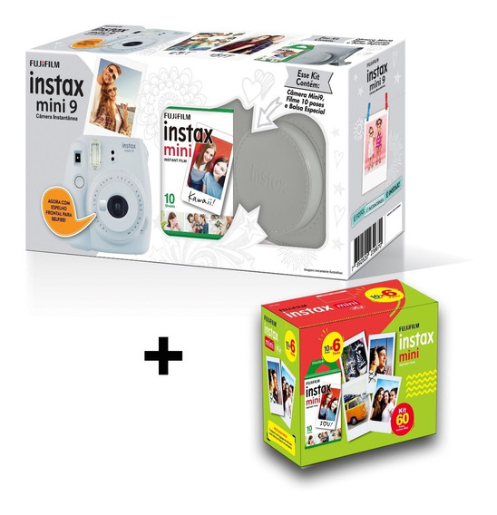 Instax Mini 9 Kit + Entrega Super Rápida