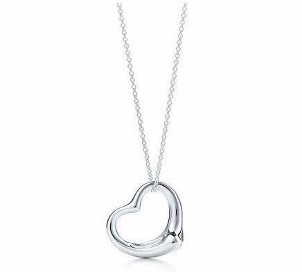 6x Colares De Coração Mensagem De Amor Simples E Elegante