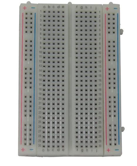 Protoboard Breadboard 400 Pontos 400 Furos Arduino Rasperry