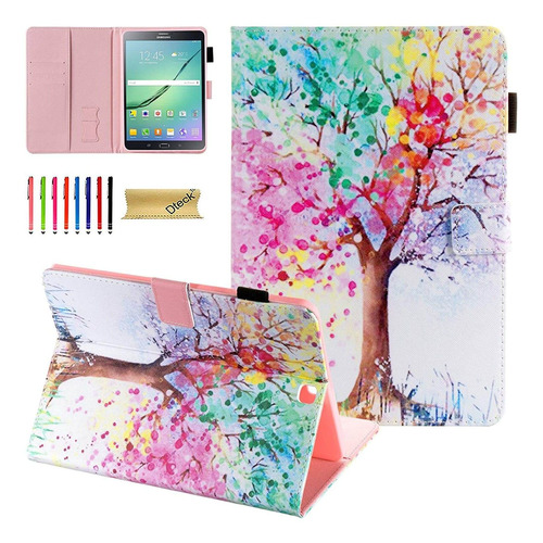 Funda Galaxy Tab S2 8.0, Dteck Folio Stand Funda Protecto...