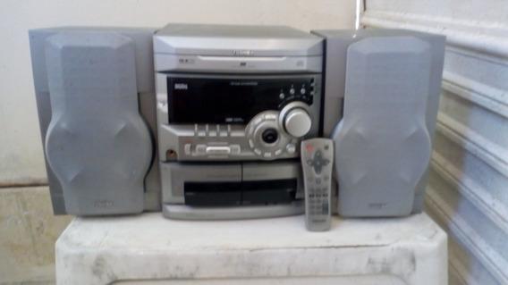 Som Toshiba Ms 6531cd Retrô Peças Originais Até 3 Cds P