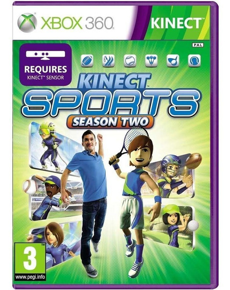 Kinect Sports Season Two Xbox 360 Mídia Física Seminovo