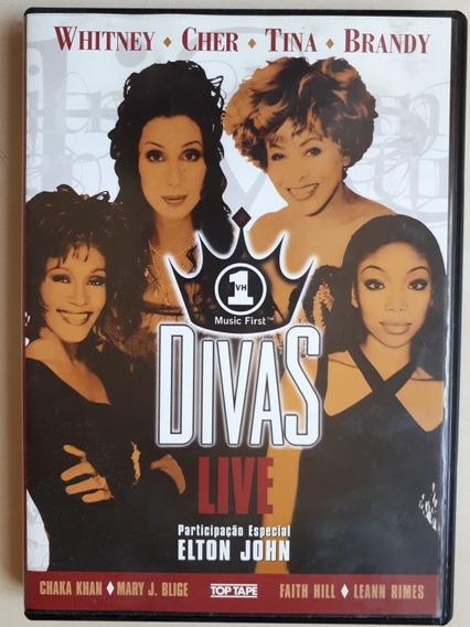 Dvd Divas Live - Tina Tuner - Cher - Whitney - Elton John